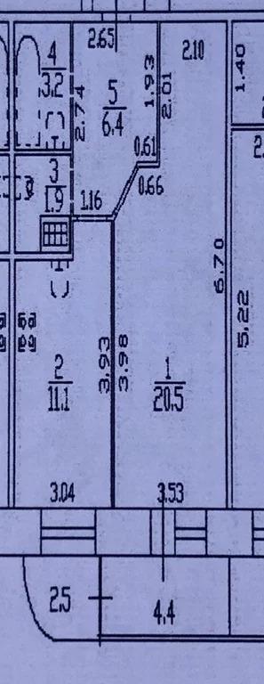 Продам 1-комн. квартиру 43.1 кв.м. - Фото 2