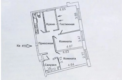 Продажа квартиры, м. Планерная, Ул. Родионовская - Фото 9