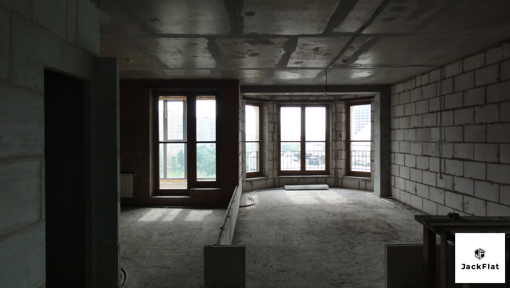 80 кв.м, св. планировка, 8этаж, 8 секция - Фото 2