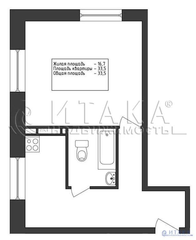 Продажа квартиры, Никольское, Тосненский район, Ул. Первомайская - Фото 0