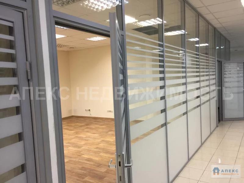 Аренда офиса 470 м2 м. Нагатинская в бизнес-центре класса В в Нагорный - Фото 4