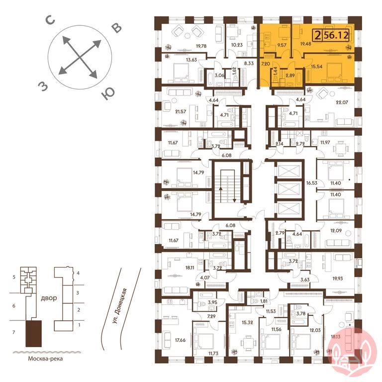 Продажа квартиры, м. Марьино, Ул. Донецкая - Фото 1