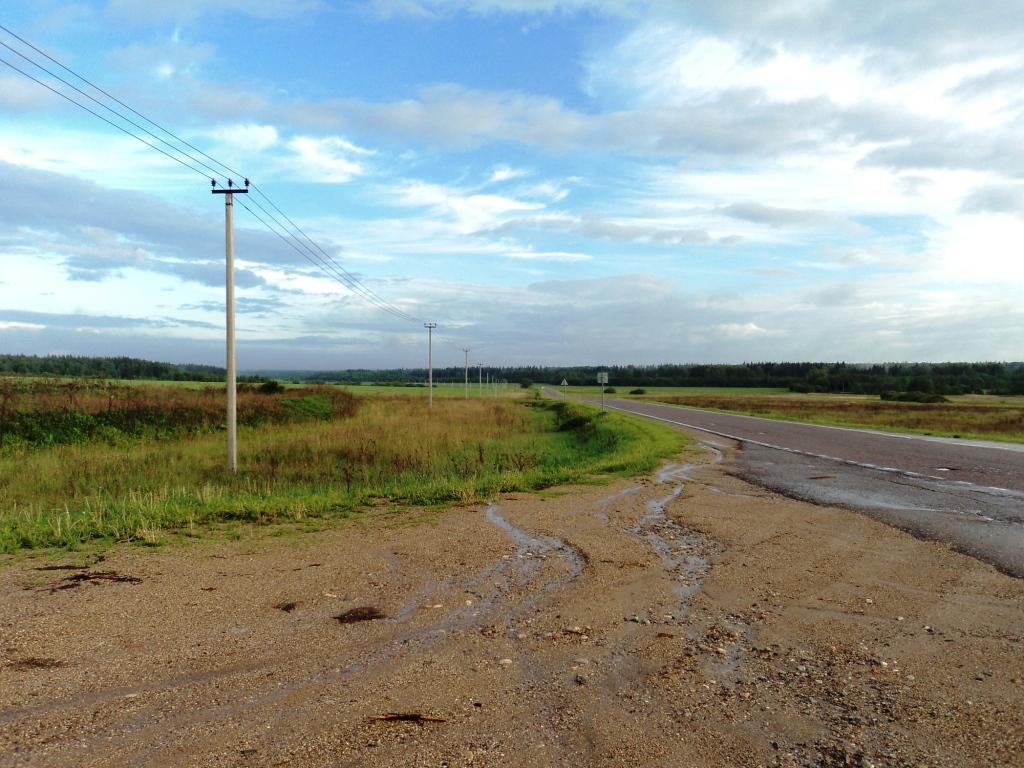 С/х земля 6,64 Га в деревне Милятино, асфальт, электричество, река - Фото 6