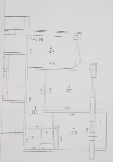 Продается 2-комн. квартира 58.9 м2 - Фото 2