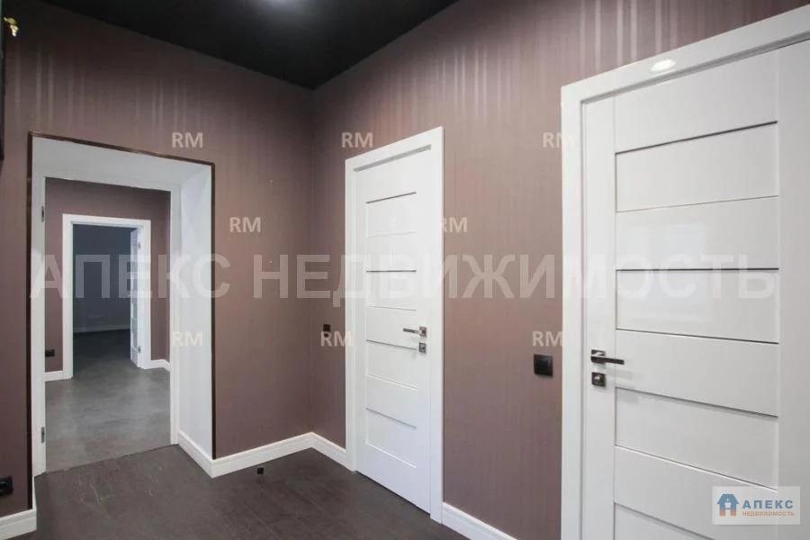 Аренда офиса 198 м2 м. Курская в бизнес-центре класса В в Басманный - Фото 3