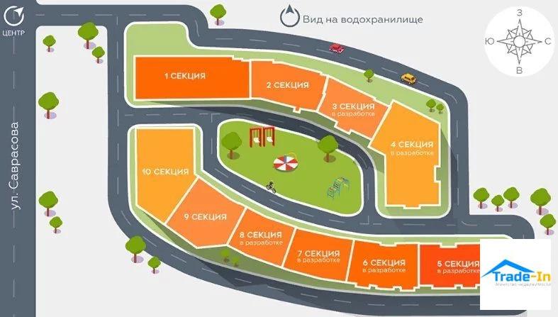 Продажа квартиры, Воронеж, Ул. Саврасова - Фото 3
