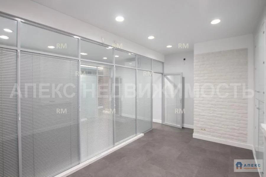 Аренда офиса 198 м2 м. Курская в бизнес-центре класса В в Басманный - Фото 8