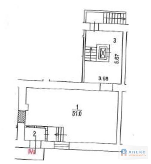 Продажа помещения свободного назначения (псн) пл. 147 м2 м. Парк . - Фото 1