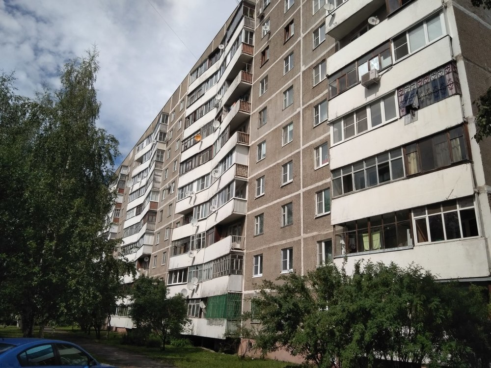 Двухкомнатная Квартира Область, улица Новикова, д.18, Саларьево, до 40 . - Фото 0