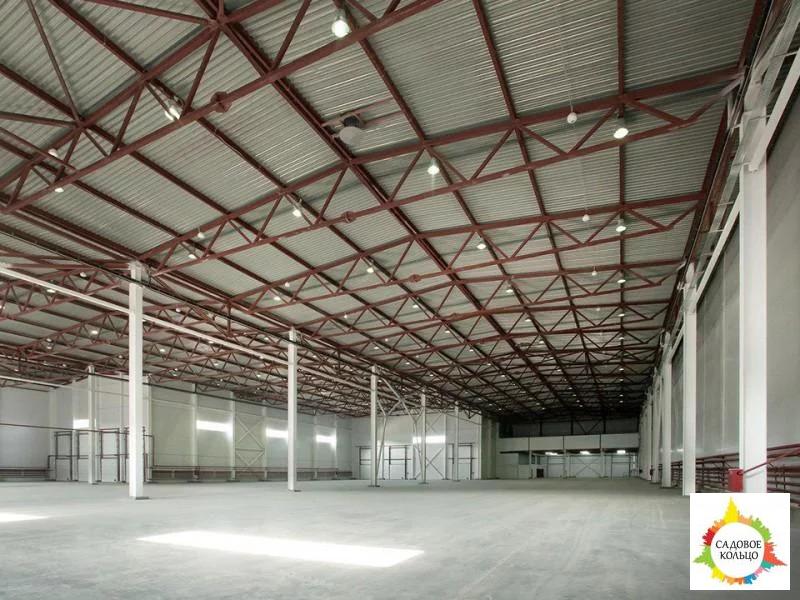 Под склад, площ.: выс. потолка: 6 м, отаплив, огорож. терр, охрана, - Фото 8