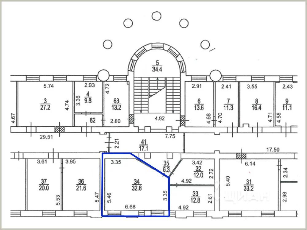 Офис в Москва ул. Габричевского, 5к1 (32.8 м) - Фото 1