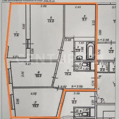 Продажа 3-к квартиры на 10/12 этаже на ул. Лососинская, д. 13 - Фото 19
