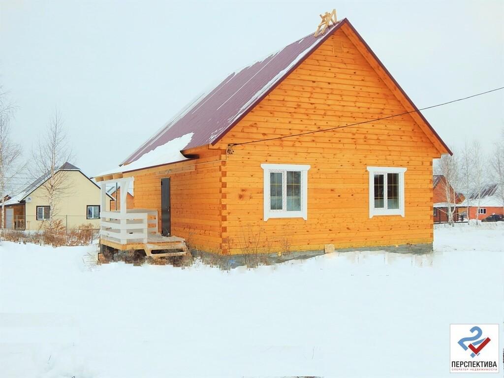 Одноэтажный дом из бруса, общей площадью 65 кв.м, на земельном участк - Фото 2