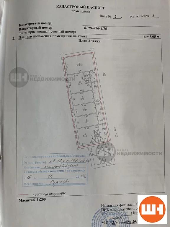 Продается 5-к Коммерческая ул. Гривцова переулок - Фото 4