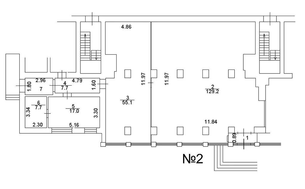 Аренда торгового помещения 224.1 м2 - Фото 2