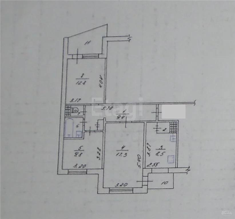 Продам 3-комн. кв. 64 кв.м. Симферополь, 60 лет Октября - Фото 7