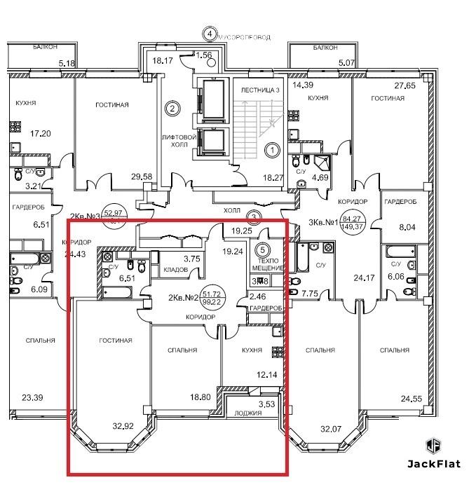 ЖК Royal House on Yauza - 2-х кв-ра, 104кв.м. с дизайнерским ремонтом. - Фото 1