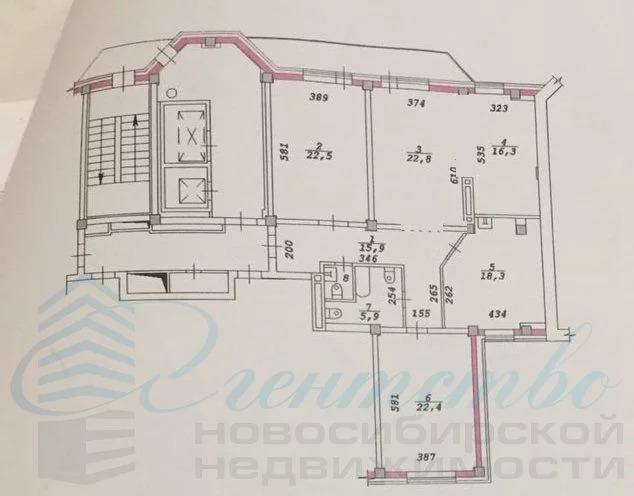 Продажа квартиры, Новосибирск, Ул. Орджоникидзе - Фото 23