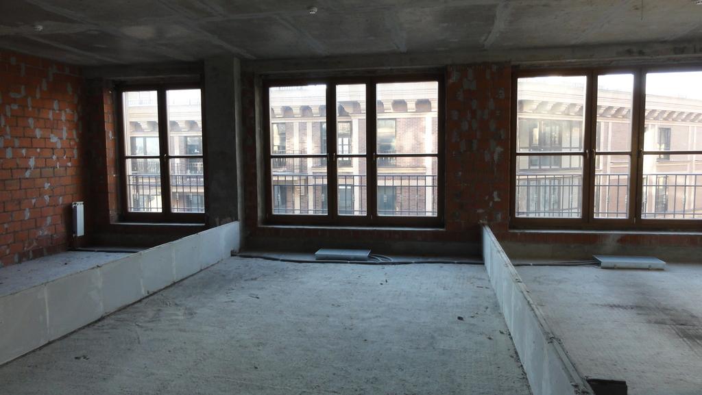 286кв.м, св. планировка, 9 этаж, 1секция - Фото 40