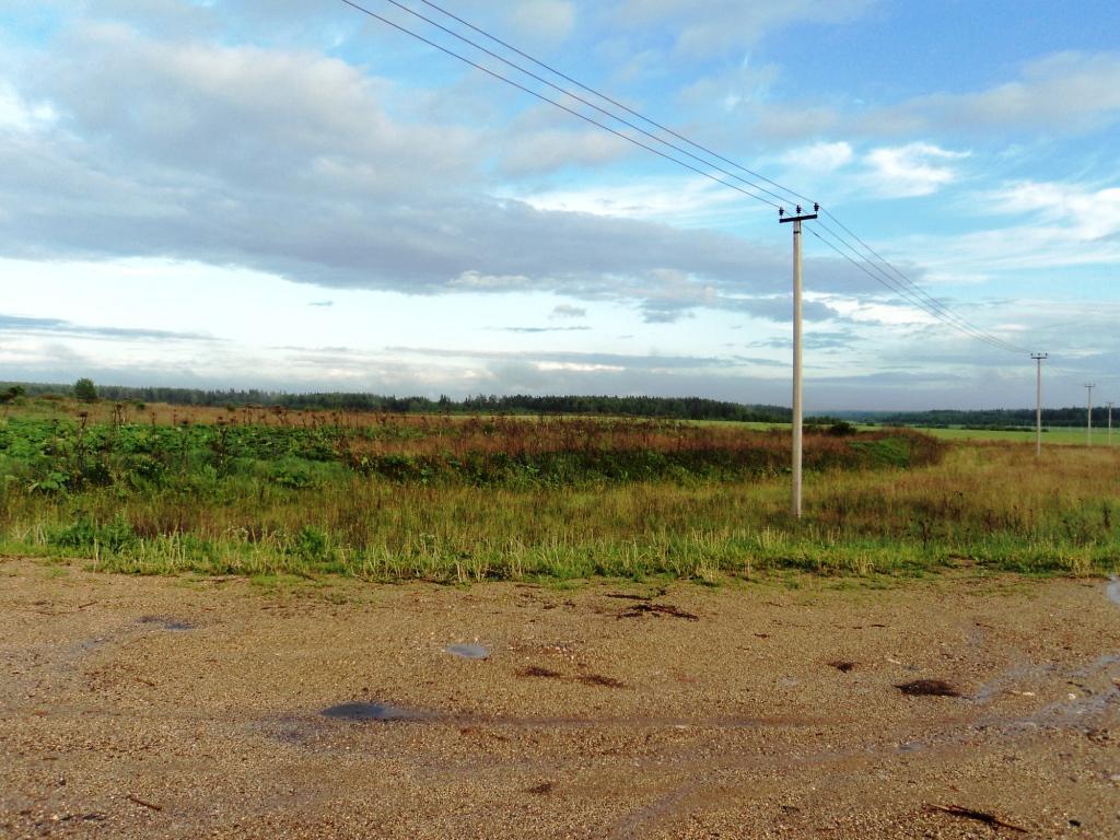 С/х земля 6,64 Га в деревне Милятино, асфальт, электричество, река - Фото 7