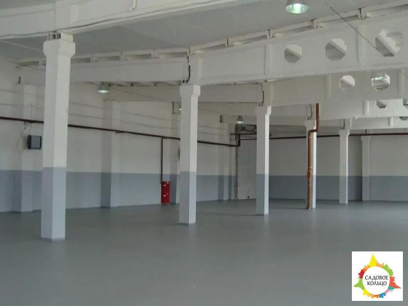 Под склад, площ.: выс. потолка: 6 м, отаплив, огорож. терр, охрана, - Фото 4
