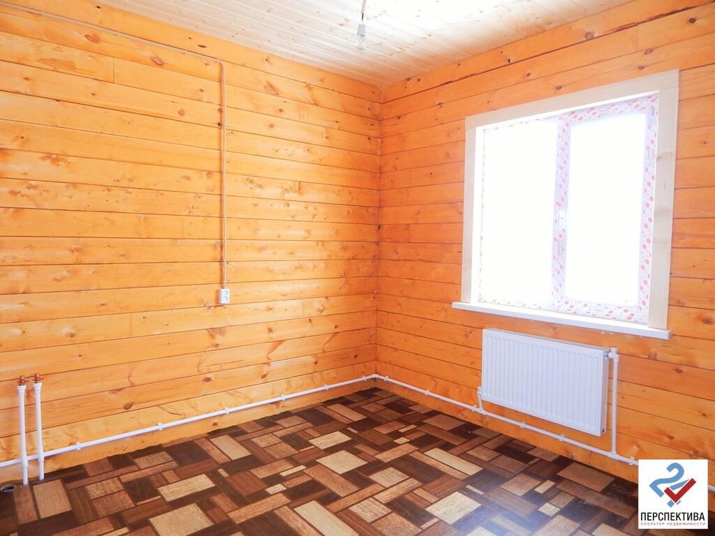 Одноэтажный дом из бруса, общей площадью 65 кв.м, на земельном участк - Фото 8