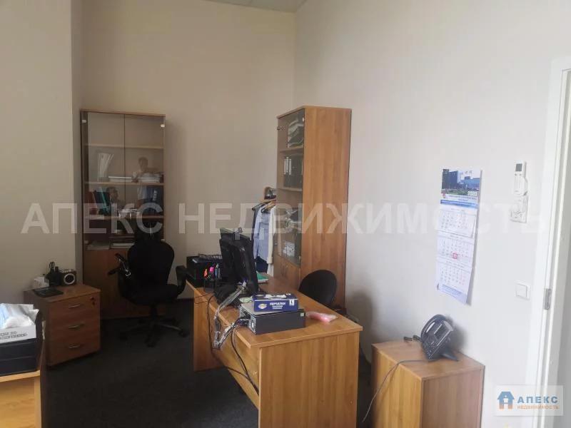 Аренда офиса 416 м2 м. Курская в административном здании в Басманный - Фото 2
