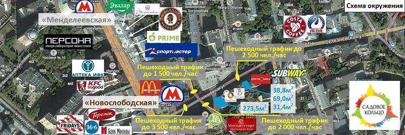 Окружение В окружении крупный деловой район с высокой бизнесактив - Фото 1