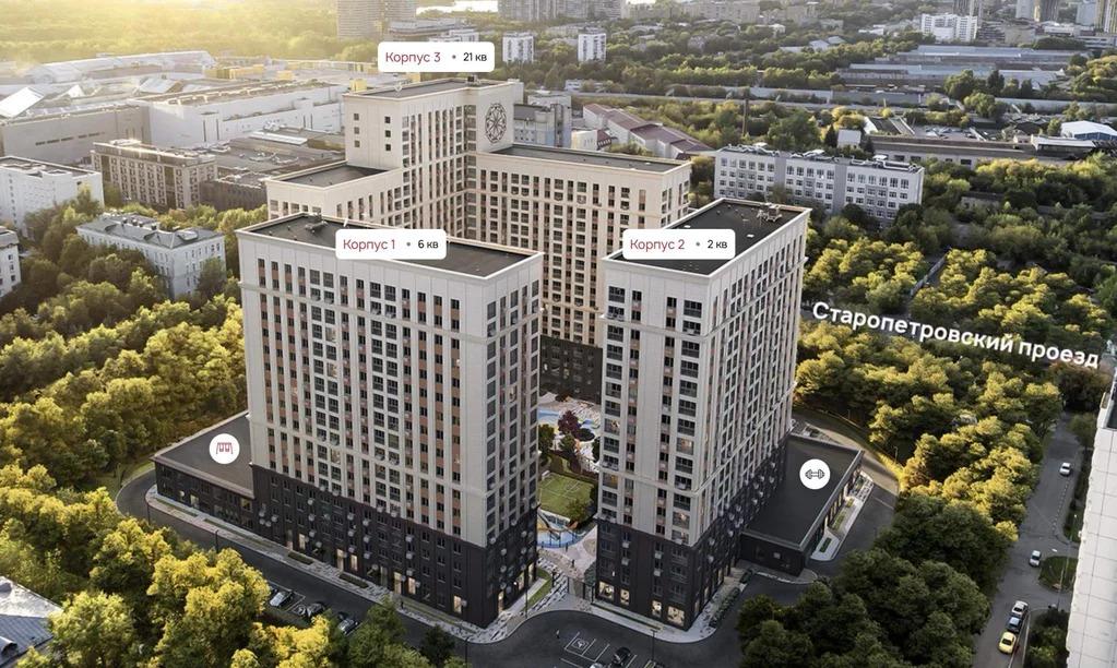 Продается 2-комн. квартира свободной планировки 60.7 м2 в новостройке - Фото 0