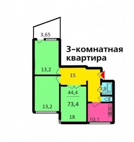 Продажа квартиры, м. Крылатское, Ул. Крылатские Холмы - Фото 14