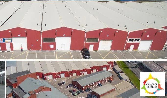 Под склад, площ.: выс. потолка: 6 м, отаплив, огорож. терр, охрана, - Фото 0