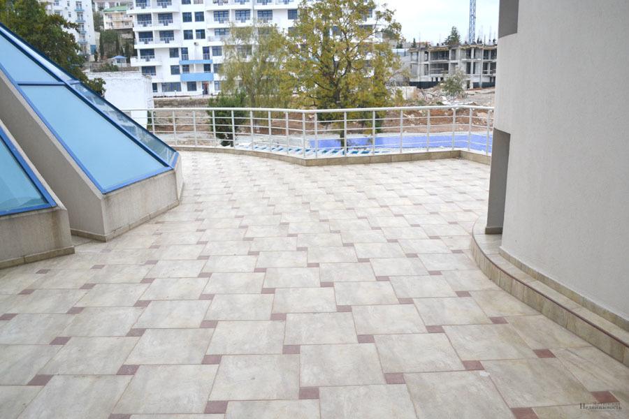 2-ая квартира в живописном Гурзуфе в элитном жилом комплексе. Бассейн - Фото 8