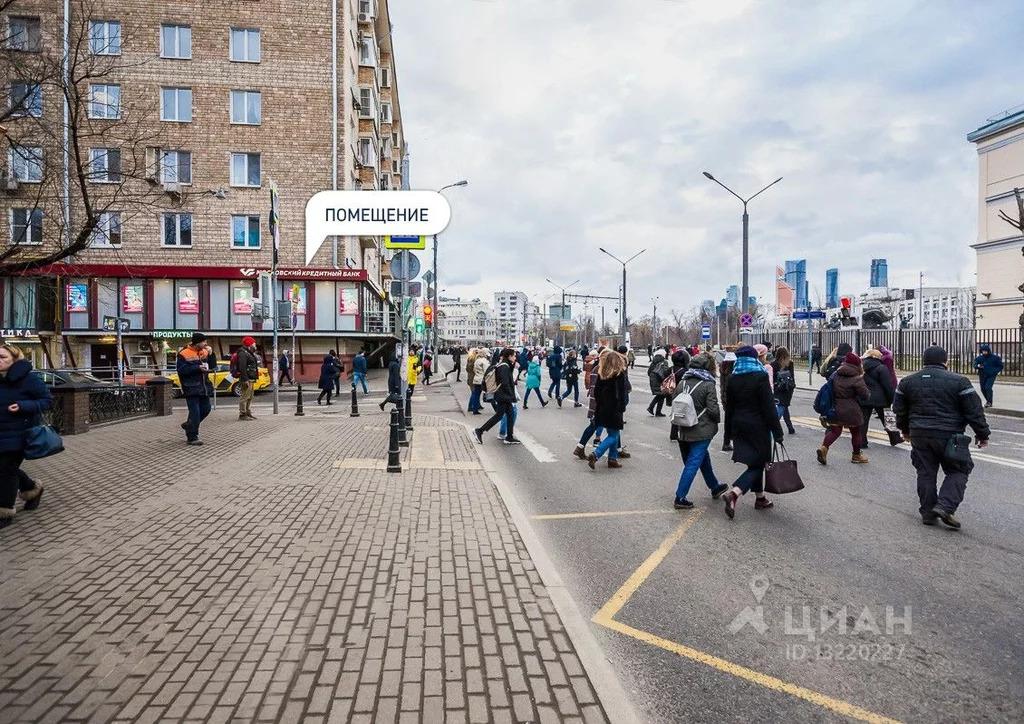 Помещение свободного назначения в Москва ул. Пресненский Вал, 4/29 . - Фото 1