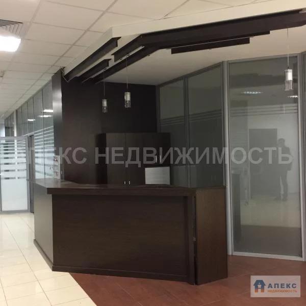 Аренда офиса 470 м2 м. Нагатинская в бизнес-центре класса В в Нагорный - Фото 1