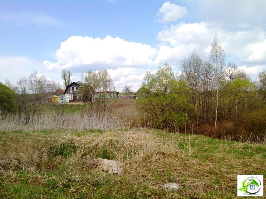 Купить земельный участок 12 соток в середине деревни, в Московской обл - Фото 15