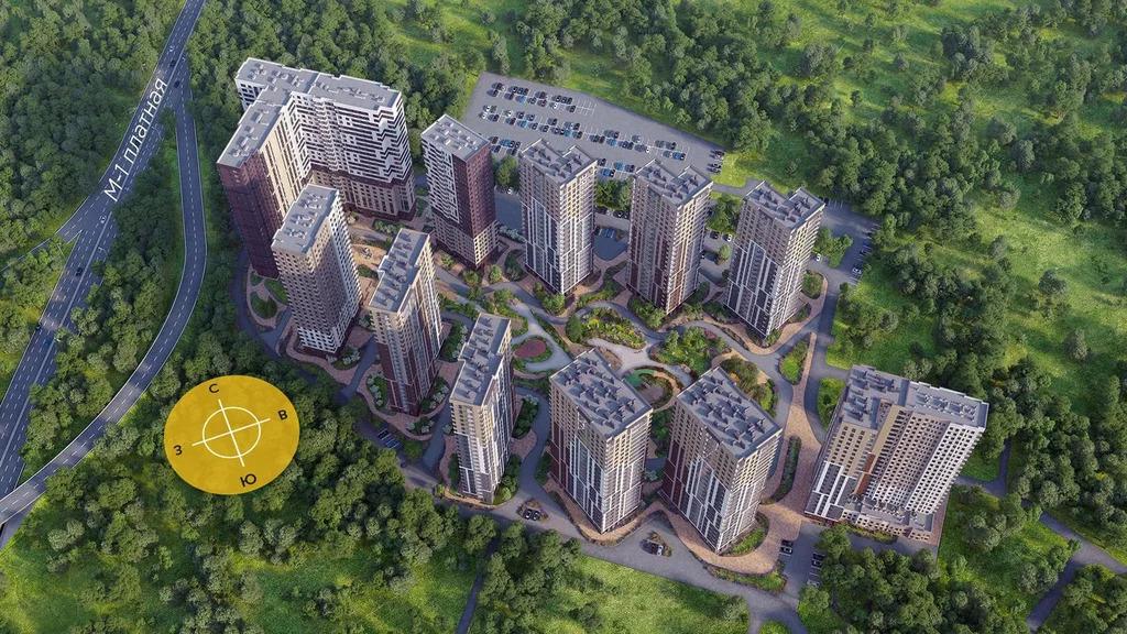 Продажа квартиры, Одинцово, Ул. Зеленая - Фото 0