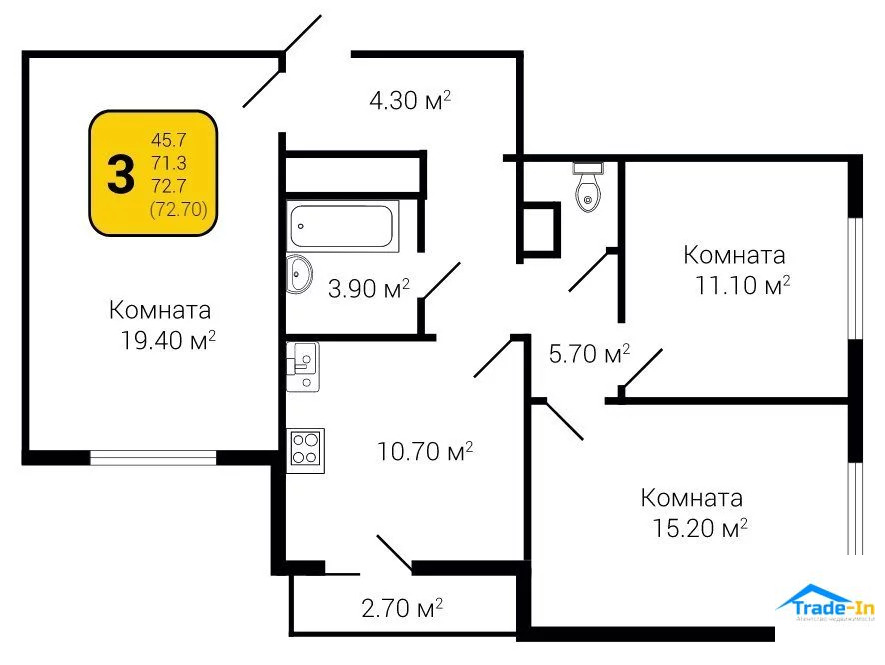 Продажа квартиры, Воронеж, Московский пр-кт. - Фото 0