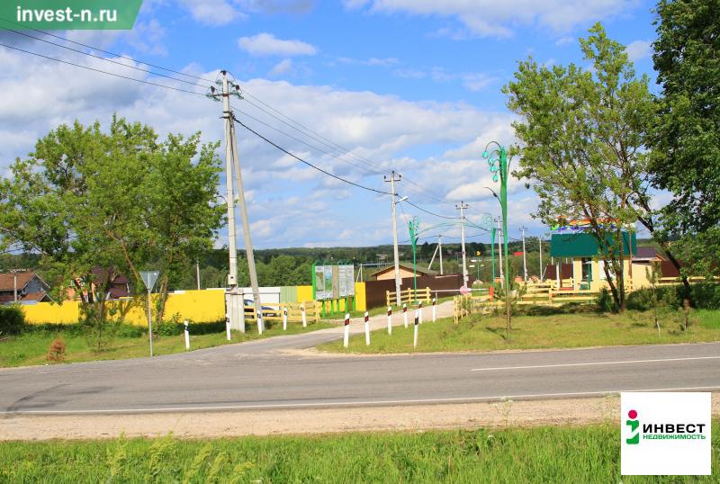Продажа участка, Домнино, Заокский район, Ул. Солнечная - Фото 1