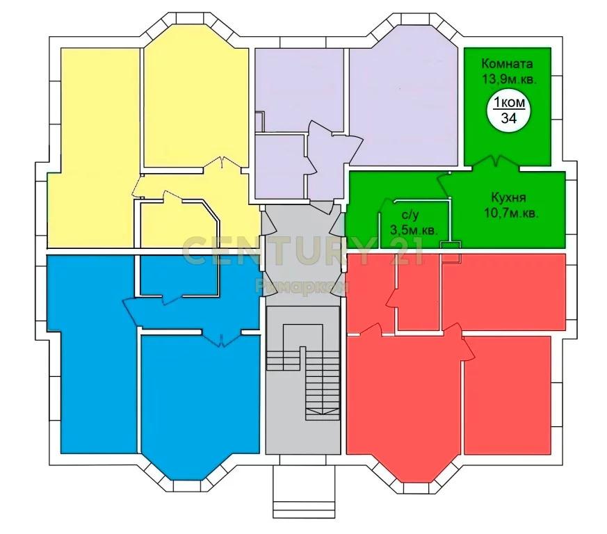 Продажа квартиры, Костомарово, Чеховский район, Микрорайон ЖК . - Фото 0