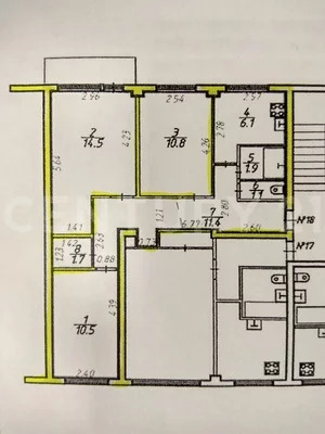 Продажа 3-х комнатной квартиры на ул. Ригачина 44а - Фото 18