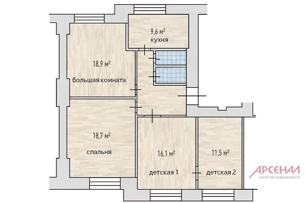 Тихий дом на Бронной - Фото 23