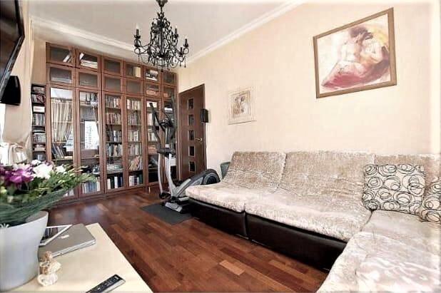 Сдаем 3х-комнатную квартиру с евроремонтом ул.Дмитрия Ульянова, д.4к2 - Фото 1