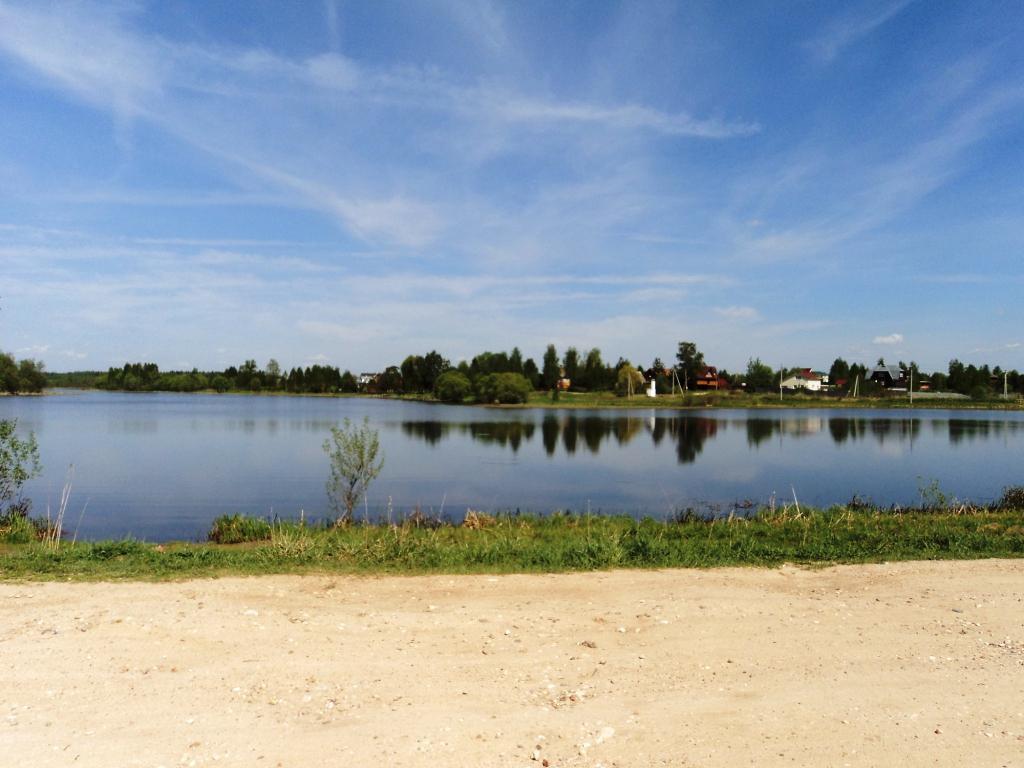 12 соток на берегу озера, МО, Рузский р-н. - Фото 0