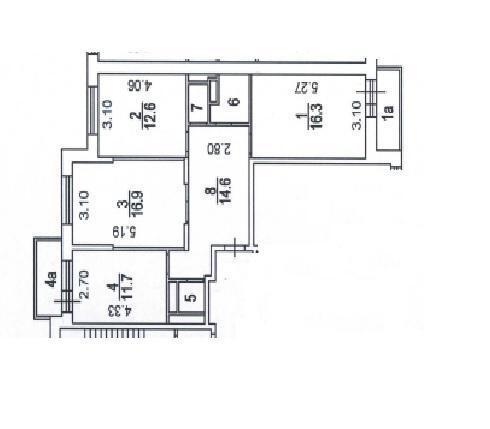 Продается 3-х комнатная квартира Пресненский Вал - Фото 6