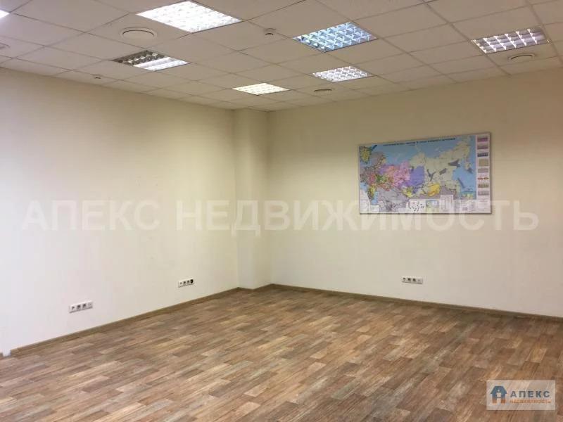 Аренда офиса 470 м2 м. Нагатинская в бизнес-центре класса В в Нагорный - Фото 3
