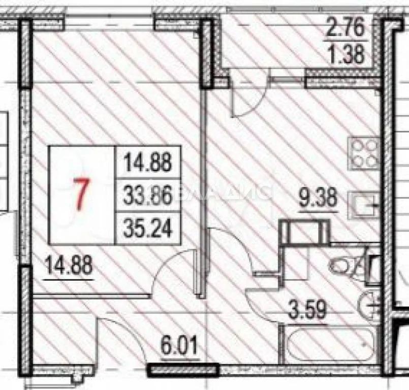 Продажа квартиры, Мирный, Люберецкий район, Жилой комплекс Томилино . - Фото 2