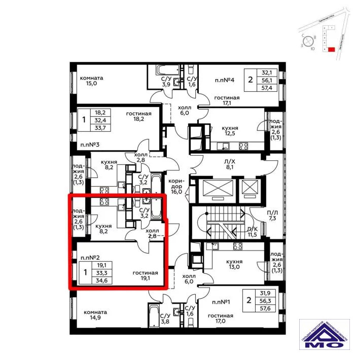 Продажа квартиры, Балашиха, Балашиха г. о, Бояринова улица - Фото 1