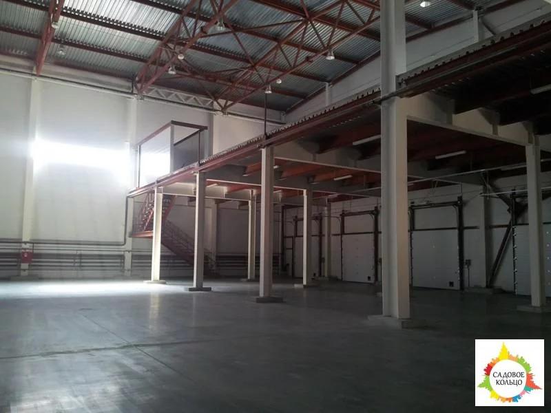 Под склад, площ.: выс. потолка: 6 м, отаплив, огорож. терр, охрана, - Фото 16