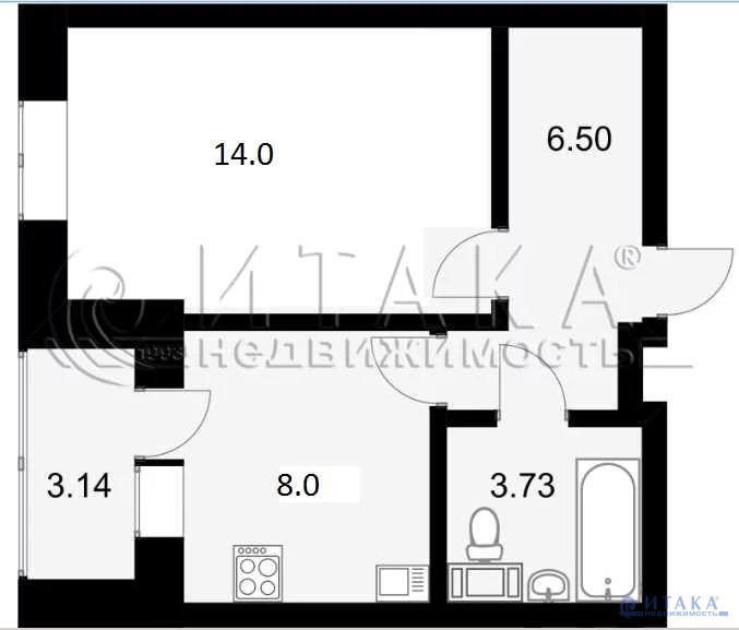 Продажа квартиры, Мурино, Всеволожский район, Воронцовский б-р. - Фото 5