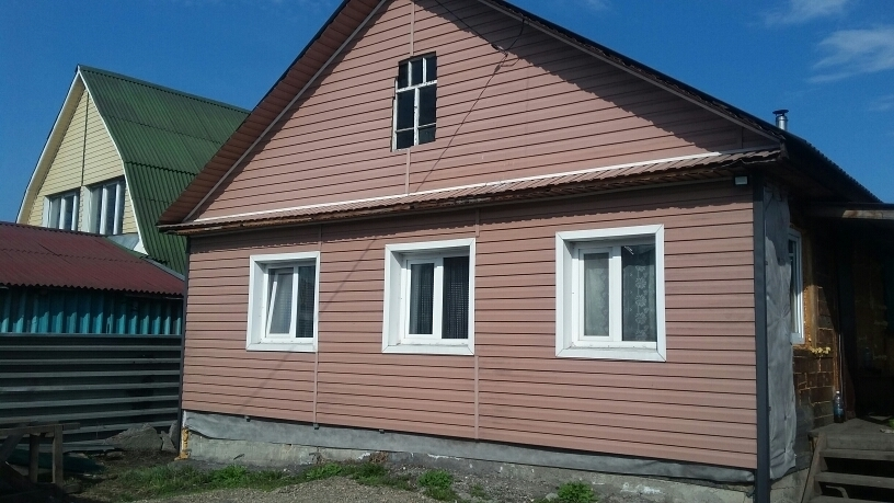 Продам дом с.Ильинка, год постройки 2013, из бруса, 44 м.к. - Фото 0